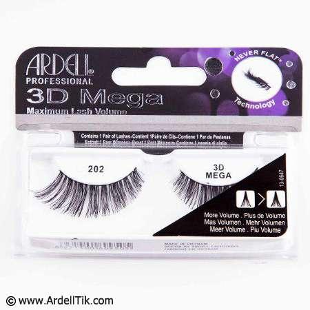 مژه۳D آردل ۳D MEGA Volume – کد ARDELL-202