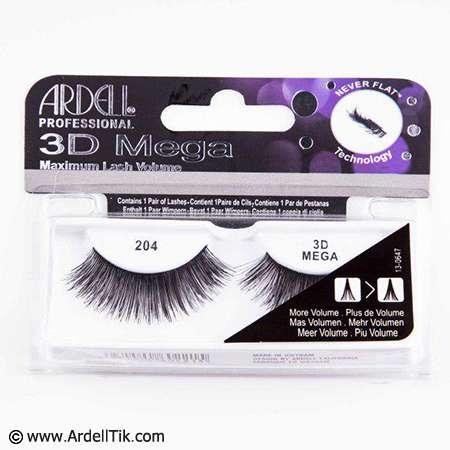 مژه ۳Dآردل -۳D MEGA Volume – کد ARDELL-204