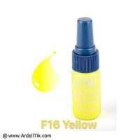 رنگ تاتو تیک – زرد