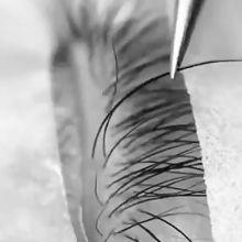 ویدیو آموزش اکستنشن مژه